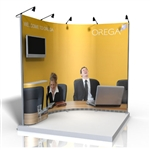 ISO Frame Wave Trade Show Display 10.5' Kit