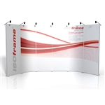 ISO Frame Wave Trade Show Display 16' Kit