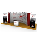 ISO Frame Wave Trade Show Display 21' Kit