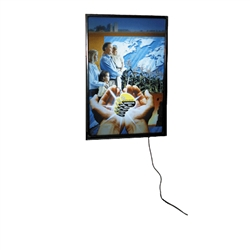 Trade Show Light Box Display Wall or Ceiling