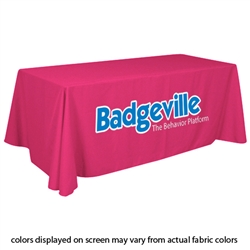 Closeout Magenta Trade Show Table Cover