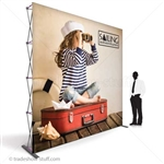 Captivate 10ft Tall Trade Show PopUp Display