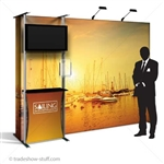 Captivate Pro 10ft Trade Show PopUp Display