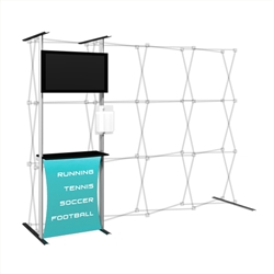 Captivate Pro Add-on Kit 10ft Fabric Display
