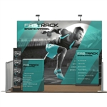 Captivate 10ft Fabric PopUp Complete Trade Show Display Package