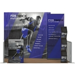 Backlit Captivate 8ft Complete Trade Show Display Package