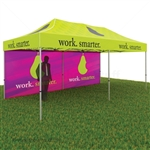 Vantage Tent Package, 10x20 Canopy with Sides