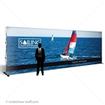 20ft Trade Show Pop Up Fabric Display