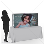 Captivate 5ft Mini Table Top PopUp Display