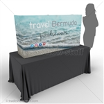 Captivate 5ft Mini Table Top PopUp