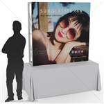 Captivate 5ft Table Top PopUp Display