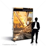 Captivate 5ft Trade Show PopUp Display