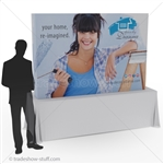Captivate 7ft Table Top PopUp