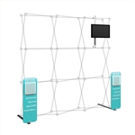 Captivate Pro Add-on Kit 8ft Pop Up Display