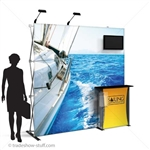 Captivate Pro 8ft Tension Fabric PopUp Display