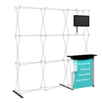 Captivate Pro Add-on Kit 8ft Fabric Display