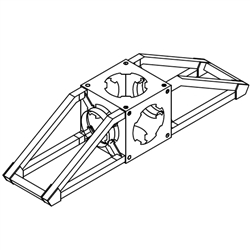 Orbital Truss Foot Junction Box