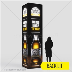 Backlit Tower Display Triumph 12ft 4-sided