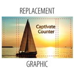 Replacement Fabric Graphic for Captivate Counter