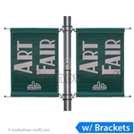 4ft Double-Span Street Pole Banner