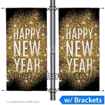 5ft Double-Span Street Pole Banner