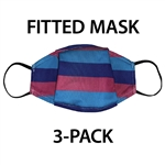Designer Printed, Fitted Face Mask