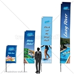 Outdoor Banner Flex Flag Display