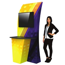 Replacement Fabric Graphics for Monitor Kiosk 04