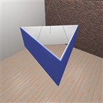 Fabric Hanging Banner Display Structure Triangle 8ft