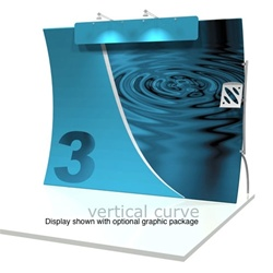 10ft Vertical Formulate Tension Fabric Graphics