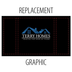 Replacement Fabric Graphic for Impact Counter