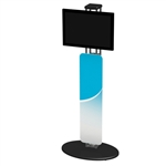 Trade Show Truss Kiosk Monitor Display