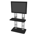 Trade Show Truss Kiosk Large Monitor Display