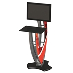 Trade Show Truss Kiosk Monitor Workstation