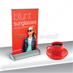 Mini Plus 1 Retractable Banner Stand