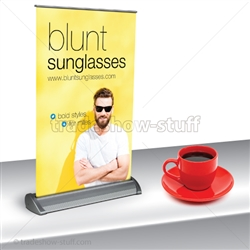 Mini Plus 2 Retractable Banner Stand