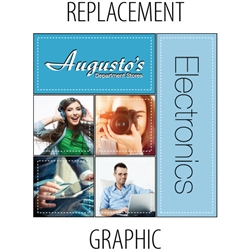 Replacement Graphics for MosaiX 8ft Display