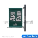 24in Single-Span Street Pole Banner