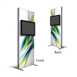 3ft Dual Monitor Kiosk Fabric Replacement SEG