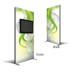 4ft Monitor Kiosk Fabric Replacement SEG