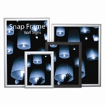 "Snap Frame Slim Poster Wall Sign; 11"" x 17"""