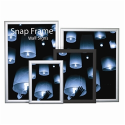 "Snap Frame Slim Poster Wall Sign; 12"" x 18"""