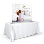 Triumph Straight Table Top Tension Fabric Display