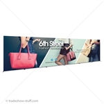 30ft SEG Frame Fabric Backwall Banner Display