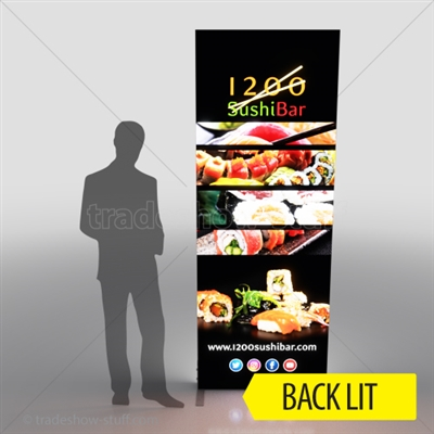 SEG Light Box Fabric LED Display