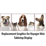 Voyager Mini Table Top Graphics