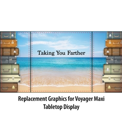 Voyager Maxi Table Top Graphics