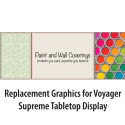 Voyager Supreme Table Top Graphics