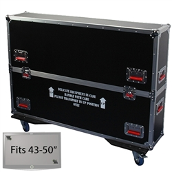 "43"" - 50"" LCD/Plasma Road Case -  Flat Panel Monitor Gator Case"