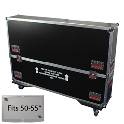"50"" - 55"" LCD/Plasma Road Case -  Flat Panel Monitor Gator Case"